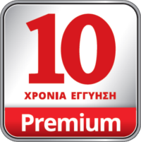 10 YEARS GUARANTEE PREMIUM